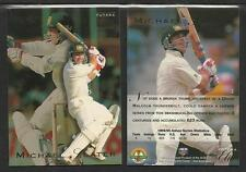 MICHAEL SLATER 1995 FUTERA CRICKET ASHES ELITE CARD No 2