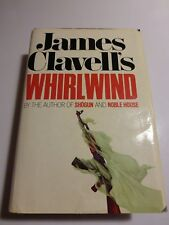 Whirlwind by James Clavell (1986, Hardcover) First Edition Hardback with Cover51