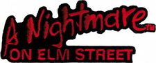 A Nightmare On Elm Street Movie Logo Embroidered Patch, NEW UNUSED