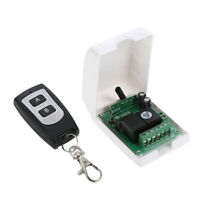 12V Remote Control Switch,Wireless RF Relay Transmitter With Receiver Module