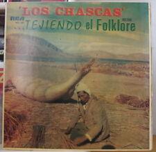 LOS CHASKAS TEJIENDO EL FOLKLORE BOLIVIA PRESS LP RCA BOL-009