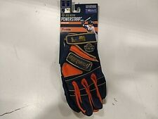 Franklin POWERSTRAP Series Baseball Glove- Navy/orange/gold, Small