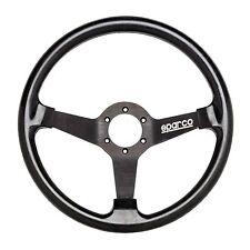 Sparco drifting/drift Silicona De Alta agarre 350mm Volante 76mm Plato En Negro