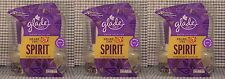 6 Glade SHARE THE SPIRIT POMEGRANATE SPARKLER Refills Glade PlugIns Scented Oil