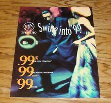 Original 1999 Buick Full Line Foldout Sales Brochure 99 Regal Riviera Century