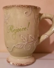 Hobby Lobby Rejoice! Coffee Mug Has A Few Minor Chips New 2011