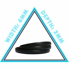 6m of 6mm Black Car Styling Strip Adhesive Moulding Trim Decorative Protective
