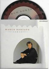 MARCO BORSATO - Sento CD SINGLE 2TR Dutch CARDSLEEVE 1991 Polydor RARE!!