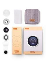 【Gift's Choice】Camera Phone Lens Kit,TORRAS 180° Fish Eye Lens and 120° Wide