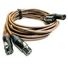 Belden 8402 Gold XLR Cable. Neutrik Balanced Interconnect Lead