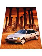 1987 1988 Ford Merkur Scorpio - Original Car Review Print Article J396