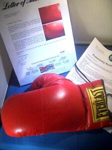 MUHAMMAD ALI Signed PSA/DNA Boxing GLOVE & Joe FRAZIER Ken NORTON Larry HOLMES !