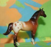 #10306 Breyer Stablemate Horse, Silky Sullivan, Appaloosa, From Playset
