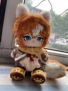 Genshin Impact Gorou Wulang Plush Dress up Doll Stuffed Toy Gift 20cm Anime Game