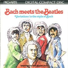Bach Meets the Beatles by John Bayless (Composer/Piano) (CD, Feb-1994, Compendia