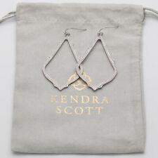 $55 Kendra Scott Sophee Drop Earrings in Silver NEW