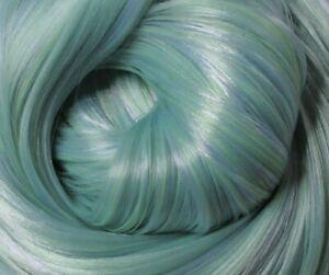 FROSTY MOSS Synatra Fiber Doll Hair for Custom Reroots