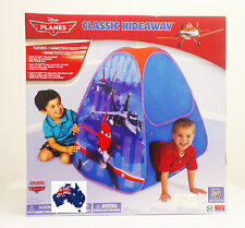 GENUINE AUS Disney Planes Pop Up Play Tent/House-Indoor/Outdoor/Cubby/foldable