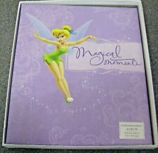 New in Box! Tinkerbell Hallmark Photo Album or Scrapbook - Glittery Fairy Cover