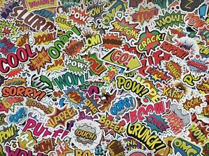 Lot de stickers Tag, graffiti, skateboard, autocollants street art, skate, cool
