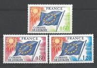 France 1975 timbres de service Yvert  n° 46 à 48 neuf ** 1er choix