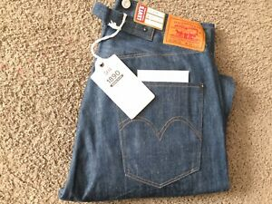 Levi's 501XX  LVC  1890 Made In USA Men's Jeans Size 34/34 Dead Stock NWT