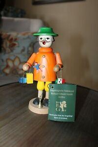 Vtg Erzgebirge Volkskunst Seiffen Wood Smoker Toy Maker