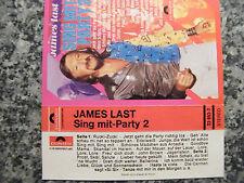 Musikkassette James Last / Sing Mit – Party 2 – Album Polydor
