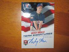 MICKEY MONIAK 2015 USA Baseball National Team AUTO Autograph #/499 QTY Phillies