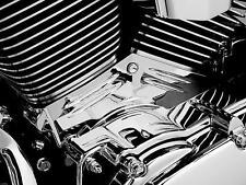 Kuryakyn Cylinder Base Side Cover Chrome Harley FLHR Road King 1999-2006