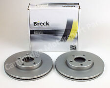 """Volvo S40 15"""" Wheels High Quality 278mm Front Breck Brake Discs"""
