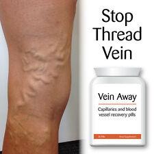 VEIN AWAY CAPILLARY & BLOOD VESSEL RECOVERY PILLS STOP THREAD VEIN SMOOTH SKIN