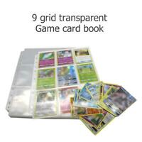 18 Cards Capacity Game Card Holder Collection Album Book NEW for Pokemon TCG