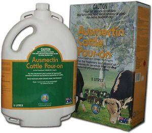 Ausmectin Cattle Drench Pour-On 5 Litre (Equiv Ivomec)