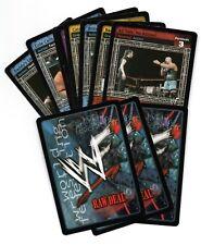 WWF CCG Raw Deal v5.0 lucha libre Trading Cards-Elige Tu Tarjeta