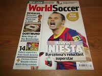 Fútbol Revista World Soccer Abril 2011 Dortmund Iniesta Tottenham Hotspur