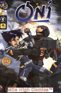 ONI (2001 Series) #1 DFE ALT CV Very Fine Comics Book