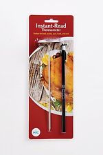 Instant Read Meat Poultry Turkey Grill Thermometer, Large 2-Inch Face