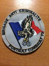 PATCH POLICE FRANCE  BAC 77 SWAT PONTAULT COMBAULT