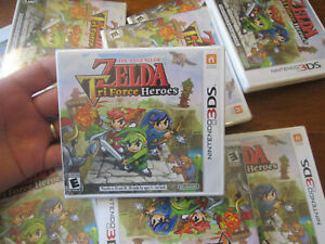 Legend of Zelda: Tri Force Heroes  Nintendo 3DS AUTHENTIC US EDITION SEALED NEW