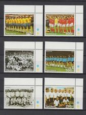 s7312) TANZANIA 1997 MNH** WC Football'98- CM Calcio 6v.