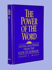 SIGNED Power of the Word Saving Doctrines Book of Mormon LDS Robert Millet HCDJ