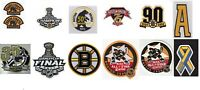 NHL BOSTON BRUINS JERSEY PATCH COLLECTIONS LOT OF 13