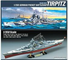 1/350 GERMAN POCKET BATTLESHIP TIRPITZ BA903 ACADEMY HOBBY KIT