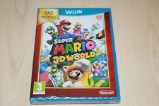 Super Mario 3D World Nintendo Wii U New Factory Sealed UK PAL