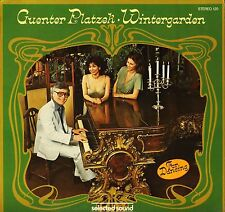 GUENTER PLATZEK wintergarden STEREO 120 selected sound 1979 LP PS EX/EX
