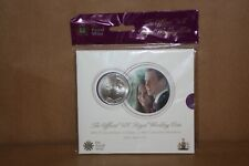 Prince William & Catherine Royal Wedding £5 Coin - The Royal Mint - New & Sealed