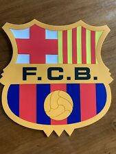 FC Barcelona BRAND NEW Rubber/Silicone Club Crest Mousepad Soccer Football Spain