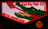 AAL-PA-TAH OA 237 BSA GULF STREAM COUNCIL FLORIDA ALLIGATOR 2016 BEST LODGE FLAP