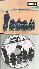 OASIS Roll With it w/ 2UNRELEASED TRX & LIVE JAPAN Pres CD Single Noel gallagher